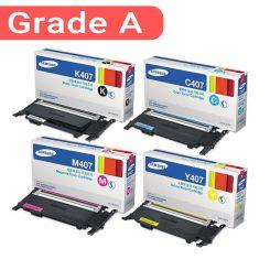 ست کارتریج سامسونگ غیر اورجینال چهار رنگ Samsung CLT-407 Laserjet Cartridge