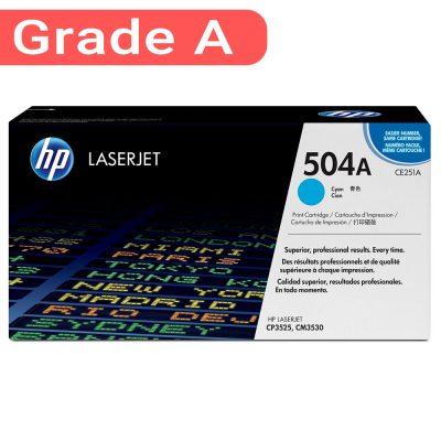 کارتریج اچ پی غیر اورجینال رنگ آبی HP 504A Cyan