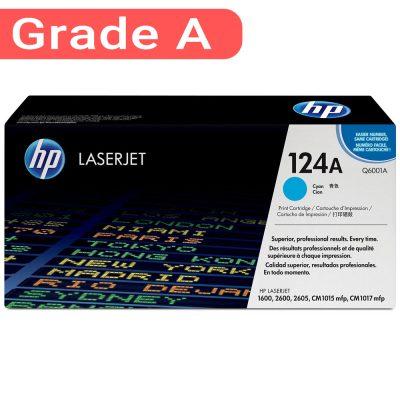 کارتریج اچ پی غیر اورجینال رنگ آبی HP 124A Cyan