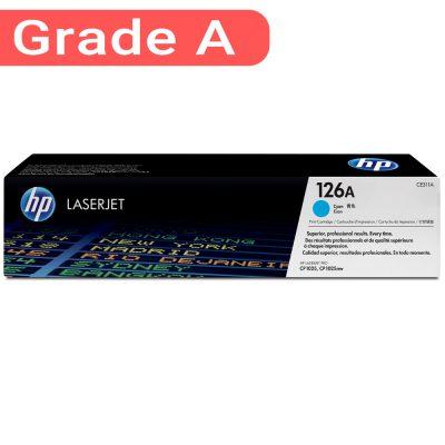 کارتریج اچ پی غیر اورجینال رنگ آبی HP 126A Cyan