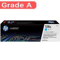 کارتریج اچ پی غیر اورجینال رنگ آبی HP 128A Cyan