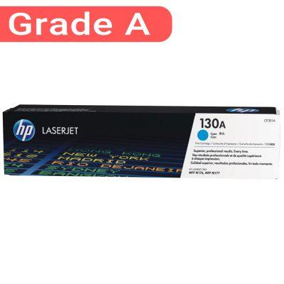 کارتریج اچ پی غیر اورجینال رنگ آبی HP 130A Cyan