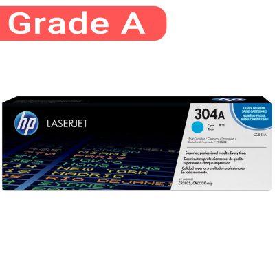 کارتریج اچ پی غیر اورجینال رنگ آبی HP 304A Cyan