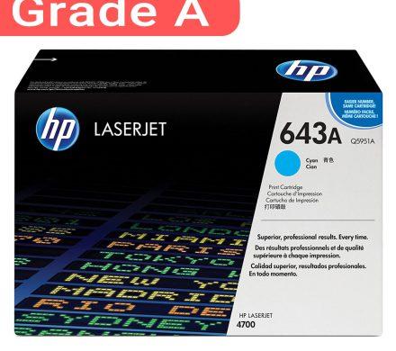 کارتریج اچ پی غیر اورجینال رنگ آبی HP 643A Cyan