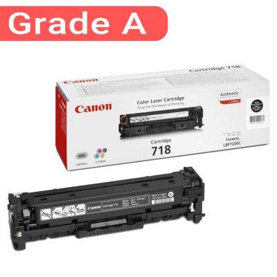 کارتریج رنگ مشکی کانن غیر اورجینال Canon 718 Black