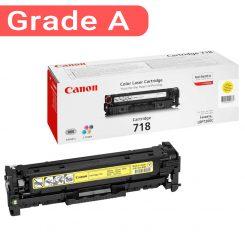 کارتریج رنگ زرد کانن غیر اورجینال Canon 718 Yellow
