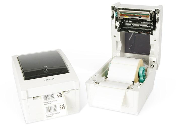 چاپگر لیبل و بارکد رومیزی Toshiba B-EV4T