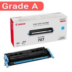 کارتریج رنگ آبی کانن غیر اورجینال Canon 707 Cyan
