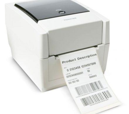چاپگر لیبل و بارکد رومیزی Toshiba B-EV4T Barcode Printer