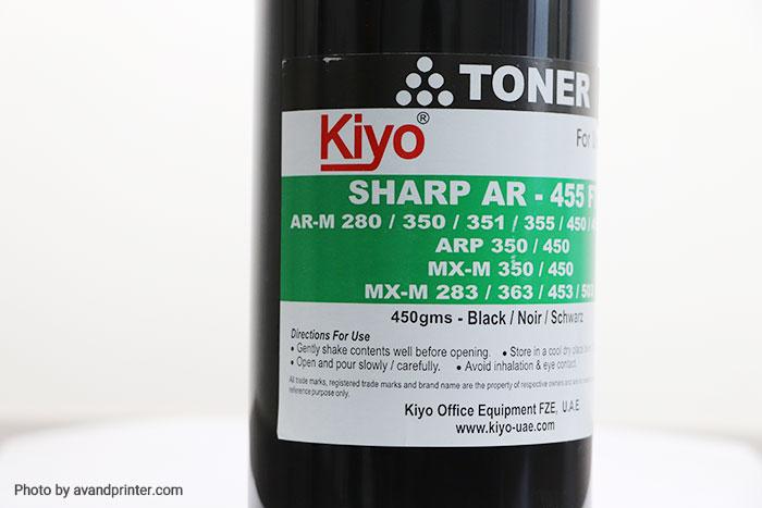 تونر شارژ Sharp کیو 450 گرمی