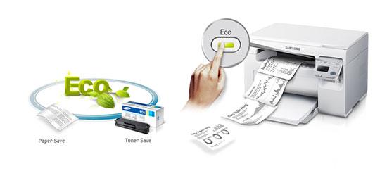 صرفهجویی چند جانبه در مصرف کارتریج
