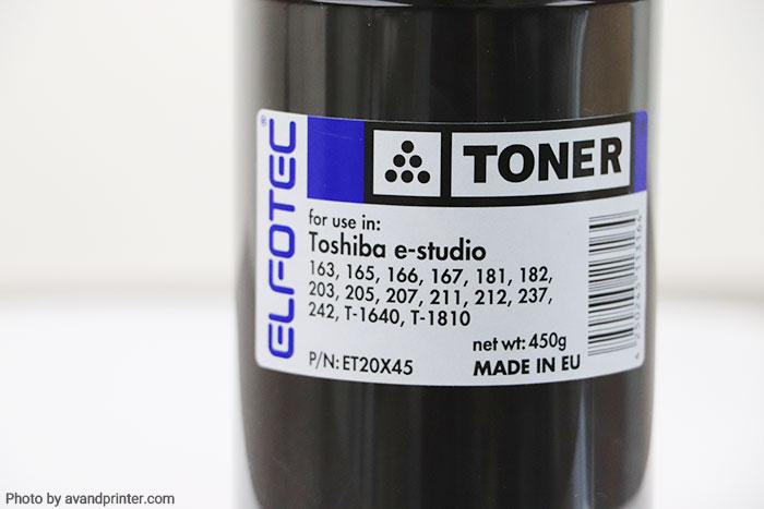 تونر شارژ توشیبا Toshiba الفوتک 450 گرمی