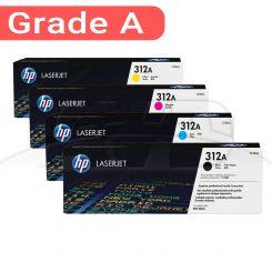 کارتریج اچ پی غیر اورجینال ست چهار رنگ HP 312A