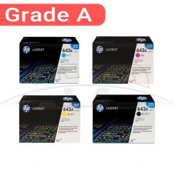 کارتریج اچ پی غیر اورجینال ست چهار رنگ HP 643A