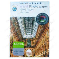 کاغذ عکس A3 براق 150 گرمی - 100 برگی