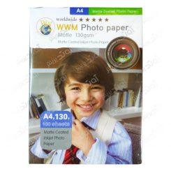 کاغذ عکس A4 مات 130 گرمی - 100 برگی