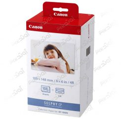 ست جوهر و کاغذ عکس کانن Canon KP-108IN Color Ink and Paper Set