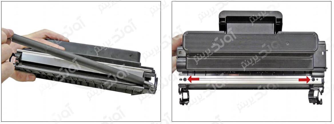 آموزش شارژ و سرویس کارتریج سامسونگ Samsung D205