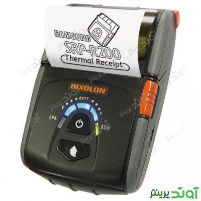 فیش و لیبل پرینتر بیکسلون قابل حمل Bixolon SPP R200II