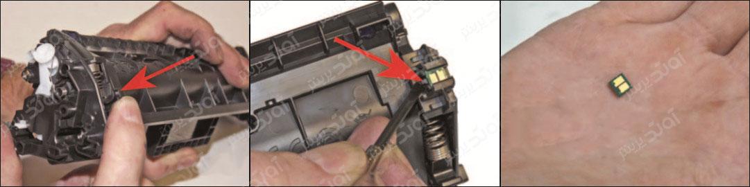 آموزش شارژ و سرویس کارتریج تونر HP 17A