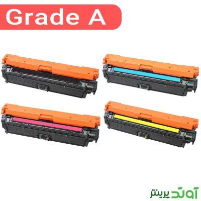 ست کارتریج رنگی اچ پی چهار رنگ HP 650A