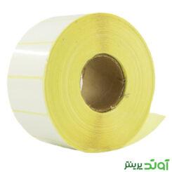لیبل (برچسب) کاغذی تک ردیفه Paper Label 25x50