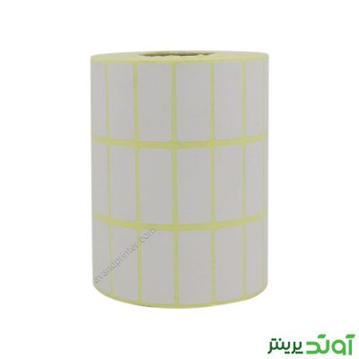 لیبل (برچسب) کاغذی سه ردیفه Paper Label 15x34