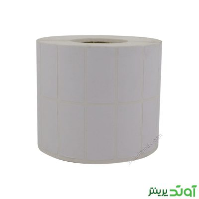 لیبل (برچسب) کاغذی دو ردیفه Paper Label 20x40 Two Rows