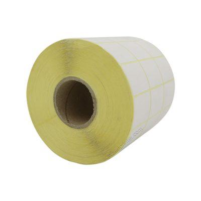 لیبل (برچسب) کاغذی سه ردیفه Paper Label 25x35