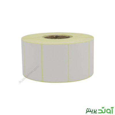 لیبل (برچسب) کاغذی تک ردیفه Paper Label 34x51