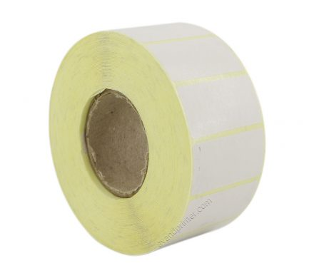 لیبل (برچسب) کاغذی تک ردیفه Paper Label 20x40