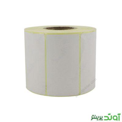 لیبل (برچسب) کاغذی تک ردیفه Paper Label 40x75