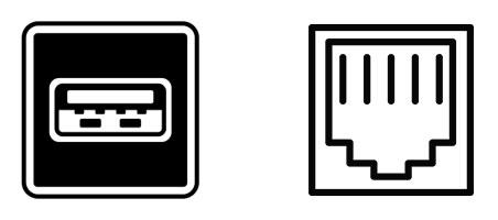 USB, ETERNET