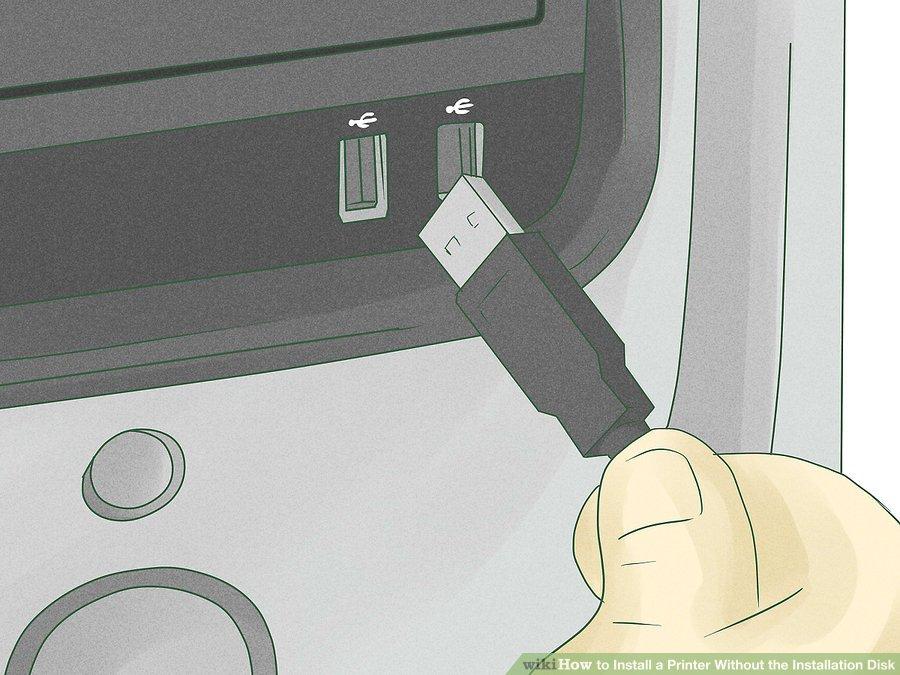 نصب پرینتر با کابل USB