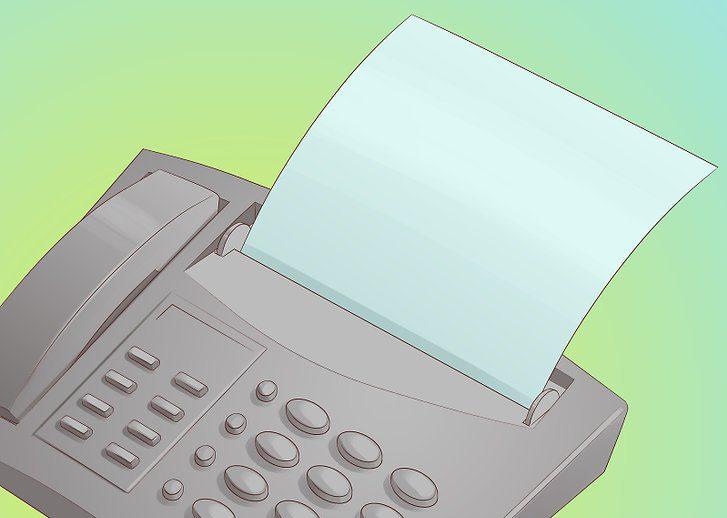 نحوه ارسال فکس