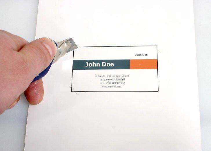 پرینت بر روی کارتهای تبلیغاتی
