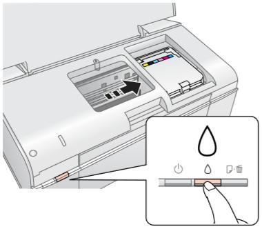 نحوه تعویض کارتریج پرینتر اپسون Epson T50