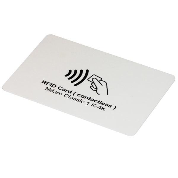 انواع کارت شناسایی