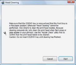 نحوه پاک کردن هد پرینتر اپسون Epson T50