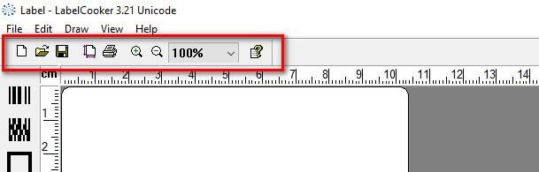 راهنمای استفاده از نرم افزار Label Cooker