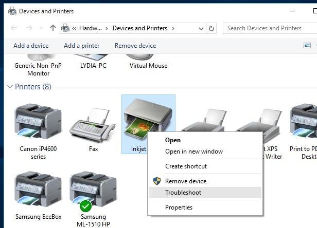 برخی مشکلات پرینترها با ویندوز 10 و شیوه حل آنها