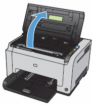 نحوه تعویض کارتریج دستگاه پرینتر HP 1025