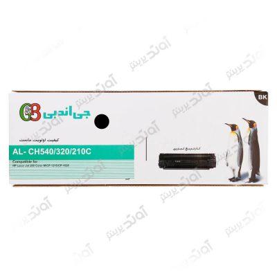 کارتریج تونر اچ پی رنگ مشکی جی اند بی HP 125A-128A-131A G&B