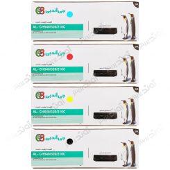 ست کارتریج اچ پی چهار رنگ جی اند بی HP 125A-128A-131A CMYK Cartridge G&B