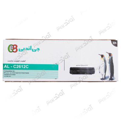 کارتریجرنگ مشکی اچ پی جی اند بی HP 12ABlack Laserjet Toner Cartridge G&B