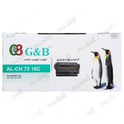 کارتریجرنگ مشکی اچ پی جی اند بی HP 16ABlack Laserjet Toner Cartridge G&B