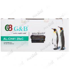کارتریجرنگ مشکی اچ پی جی اند بی HP 29X Black Laserjet Toner Cartridge G&B