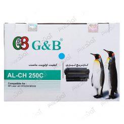 کارتریج اچ پی رنگ آبی جی اند بی HP 504A Cyan Cartridge G&B