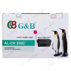 کارتریج اچ پی رنگ قرمز جی اند بی HP 504A Magenta Cartridge G&B