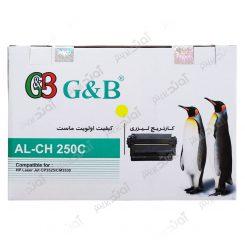 کارتریج اچ پی رنگ زرد جی اند بی HP 504A Yellow Cartridge G&B